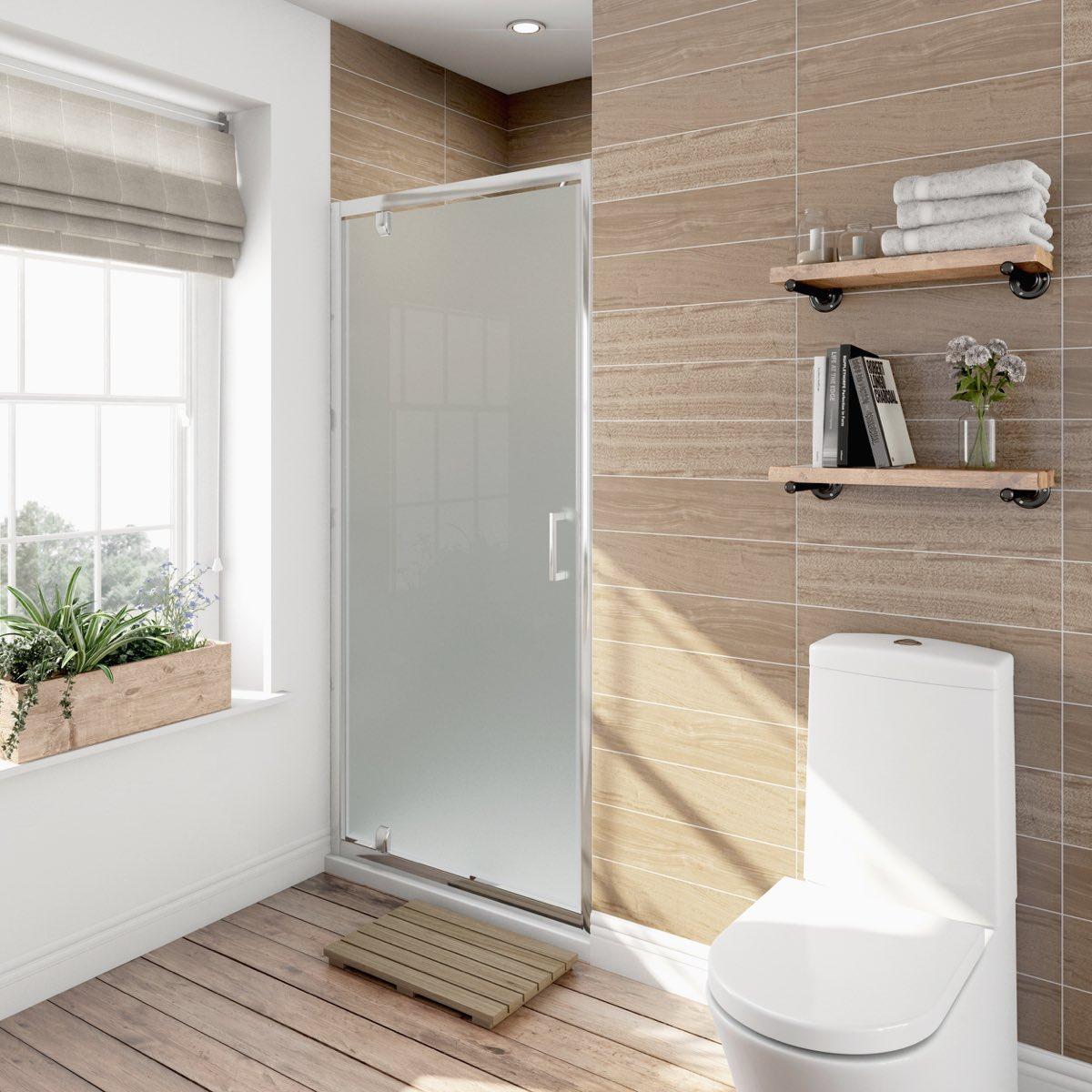 Shower doors for 1000 pivot shower door