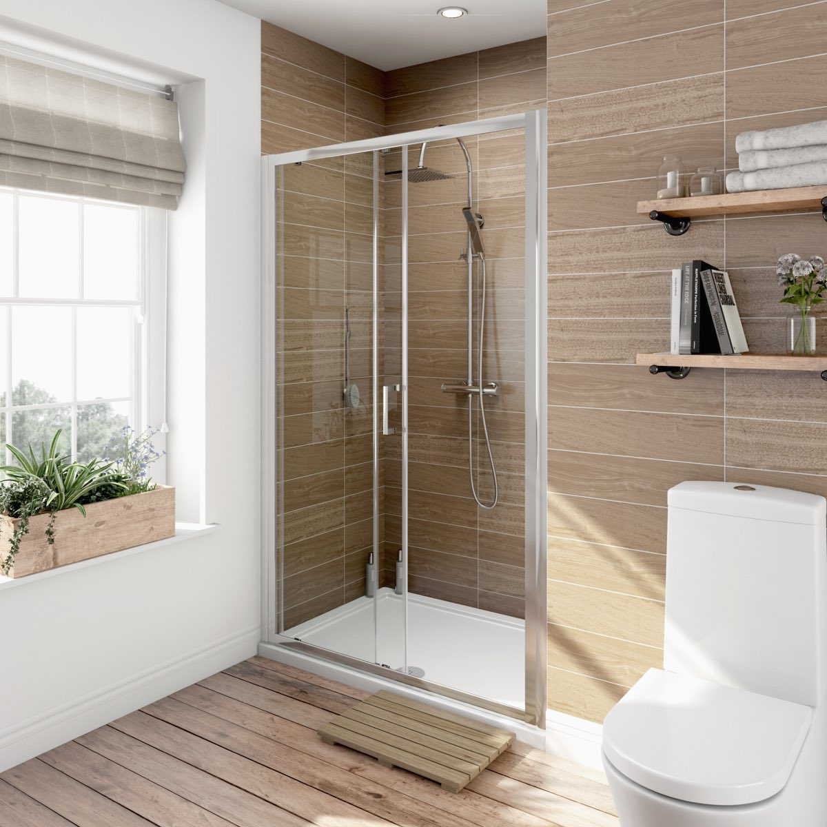 v6 sliding shower door 1200. Black Bedroom Furniture Sets. Home Design Ideas