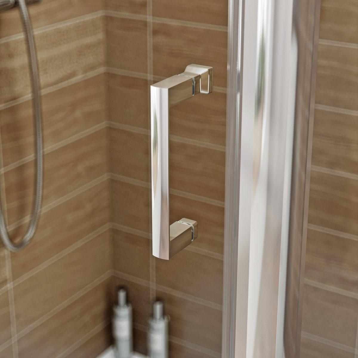 V6 pivot enclosure 1000 x 800 for 1000 pivot shower door