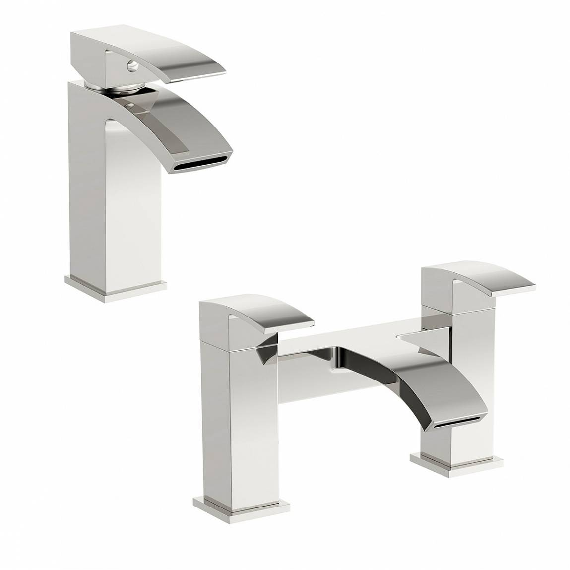 Image of Century Basin and Bath Mixer Pack