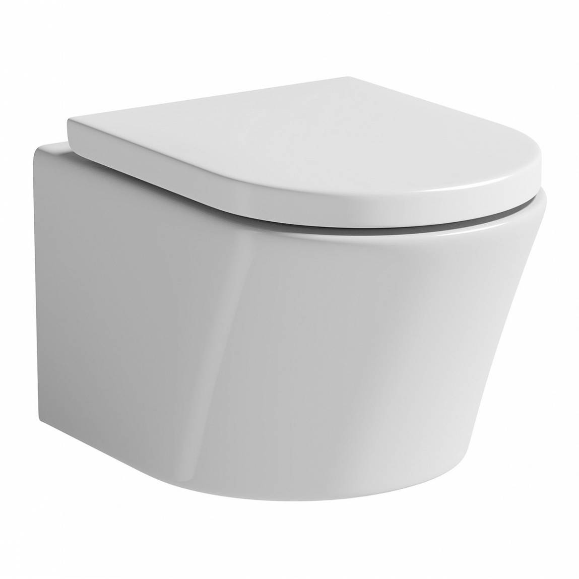 Image of Arc Wall Hung Toilet inc Seat