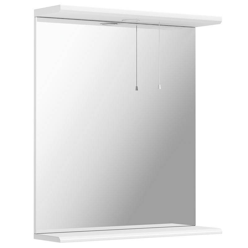 Image of Sienna White 65 Mirror with Lights