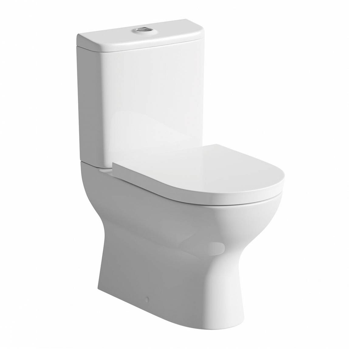 Image of Fairbanks Close Coupled Toilet inc Luxury Soft Close Seat