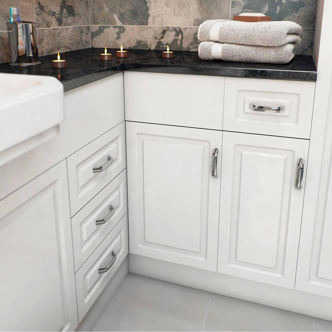 florence white corner unit. Black Bedroom Furniture Sets. Home Design Ideas