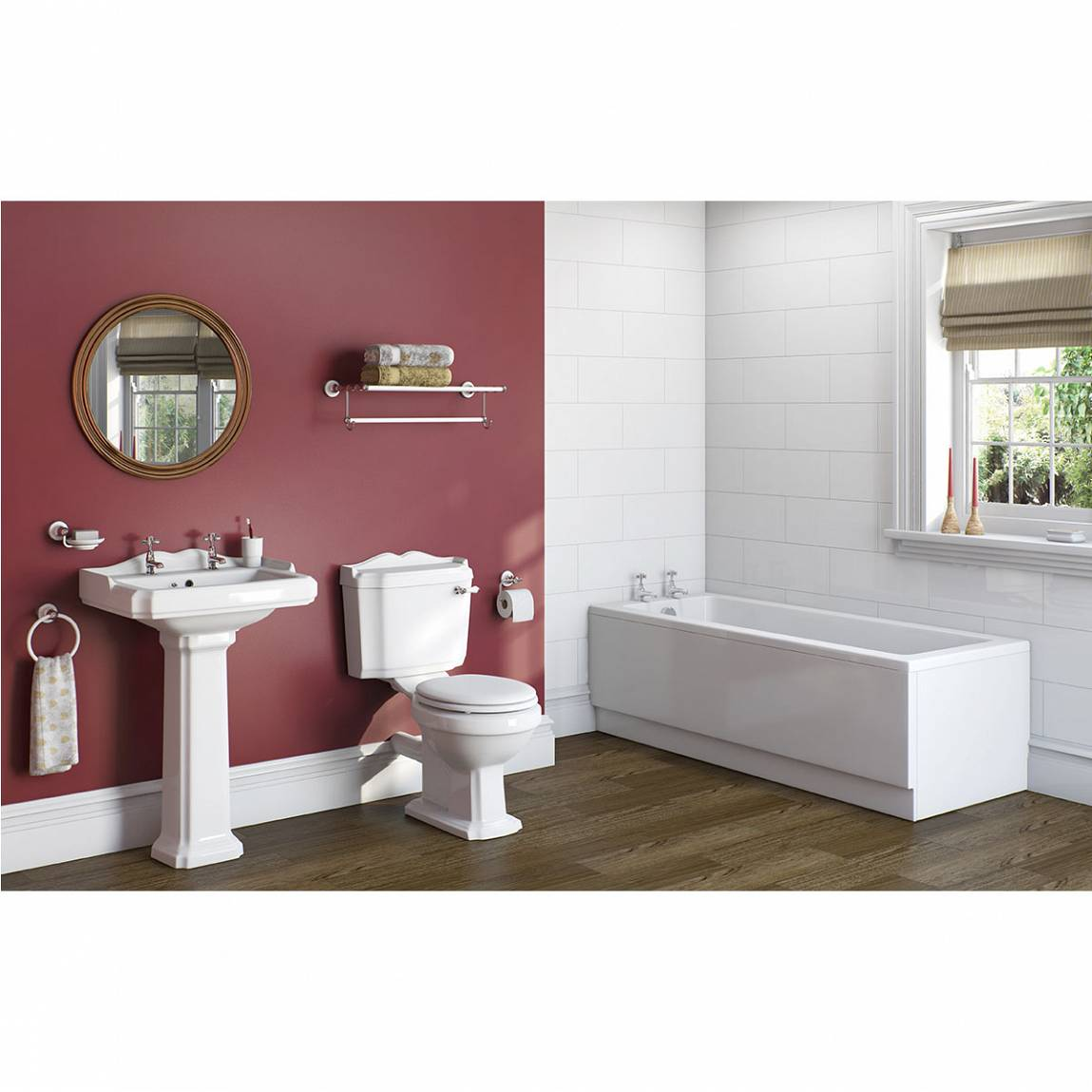 Winchester Master Suite: Winchester Bathroom Suite With Kensington 1700 X 700 Bath