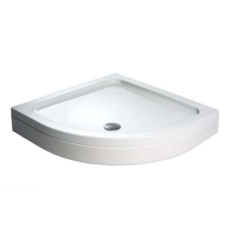 Image of Quadrant Stone Shower Tray & Riser Kit 900 x 900