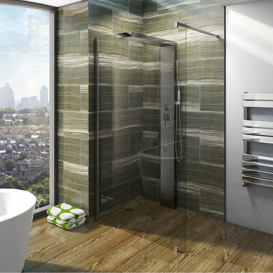 Image of V6 Designer Shower System 1200 x 900