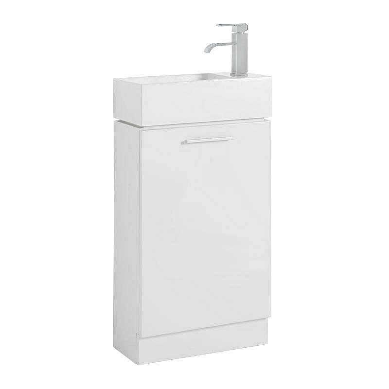 Image of Compact Unit White & Basin