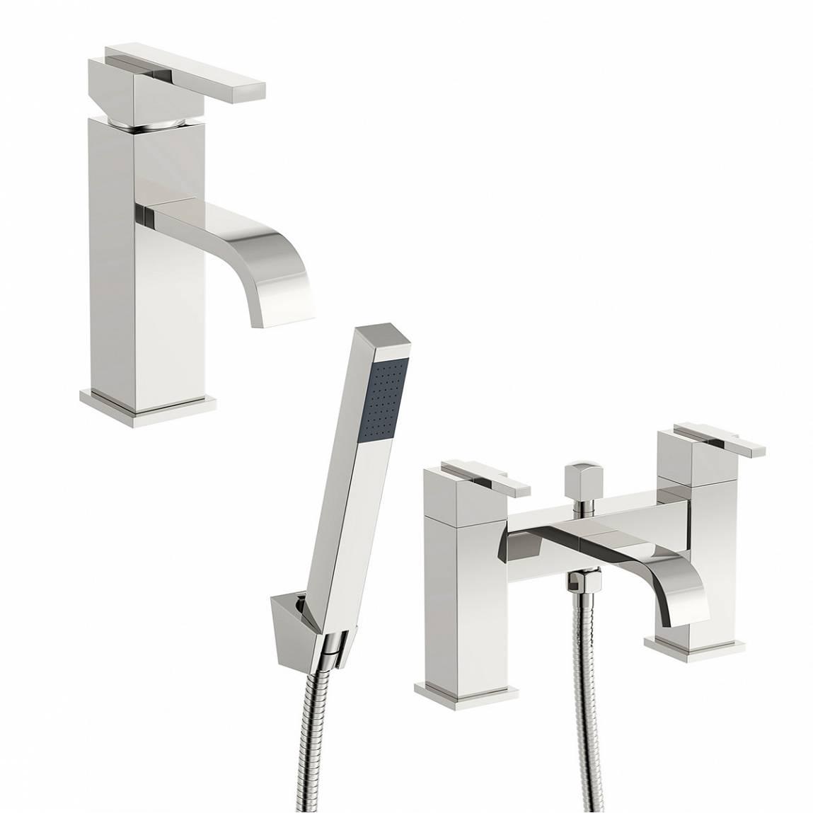 Image of Ridge Basin and Bath Shower Mixer Pack