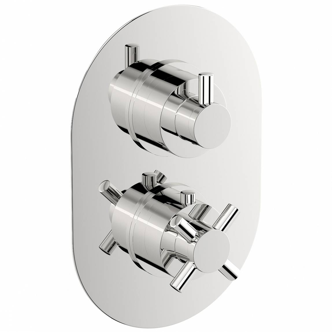 Image of Alexa Oval Twin Valve with Diverter