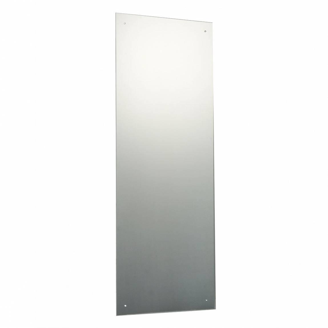 Image of Rectangular Drilled Mirror 120x45cm