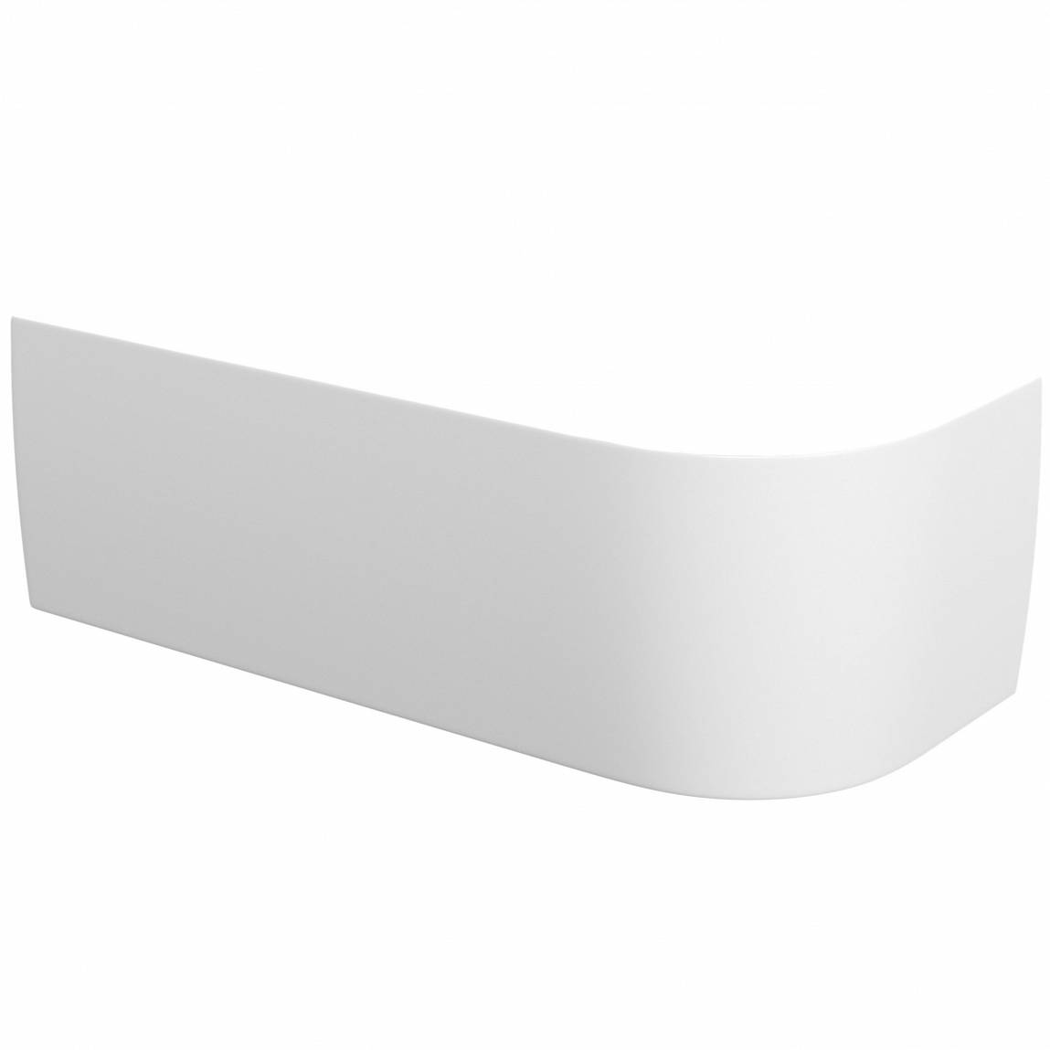 Image of Cayman D-Shaped Back to Wall Corner Bath Panel LH