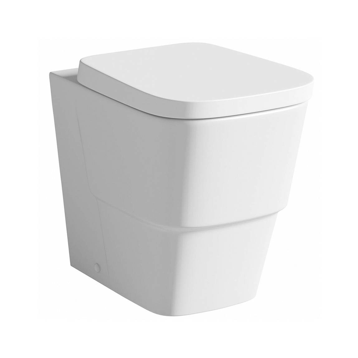 Image of Princeton Back to Wall Toilet inc Luxury Soft Close Seat