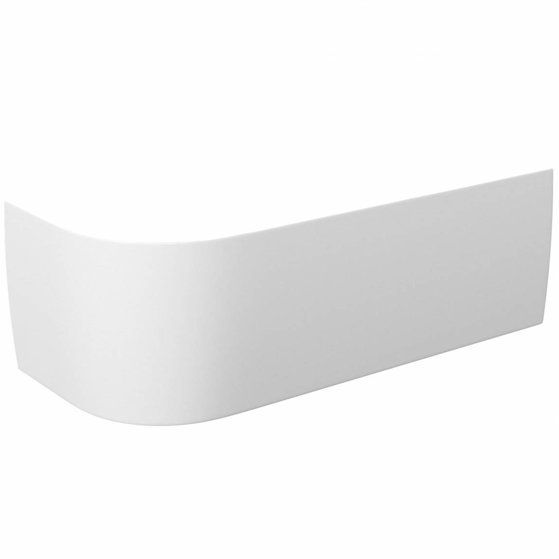 Image of Cayman D-Shaped Back to Wall Corner Bath Panel RH