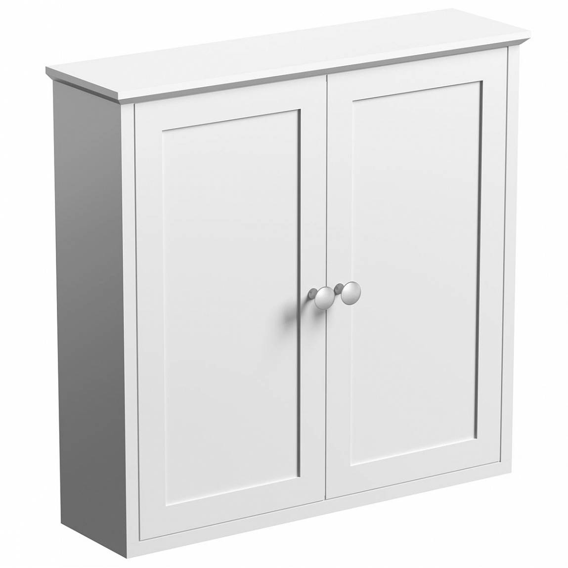 Image of Camberley White Wall Mounted Cabinet