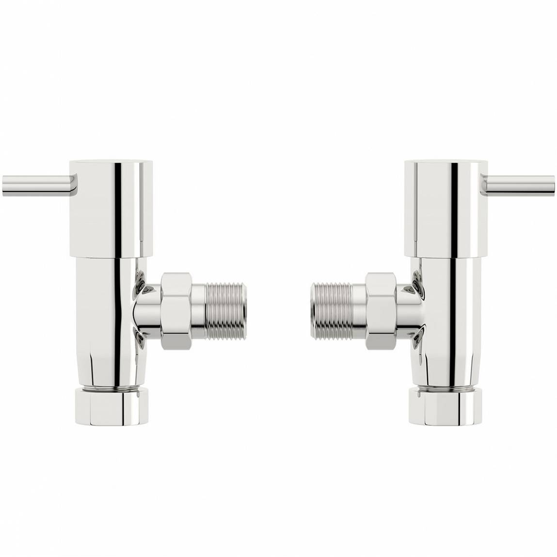 Image of Secta Angled Radiator Valves