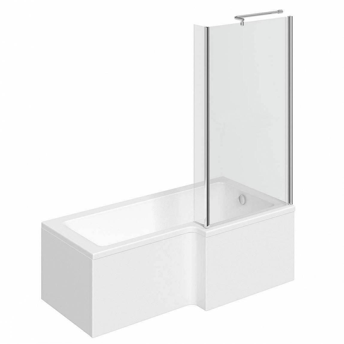 Image of Boston Shower Bath 1500 x 850 RH inc. Screen