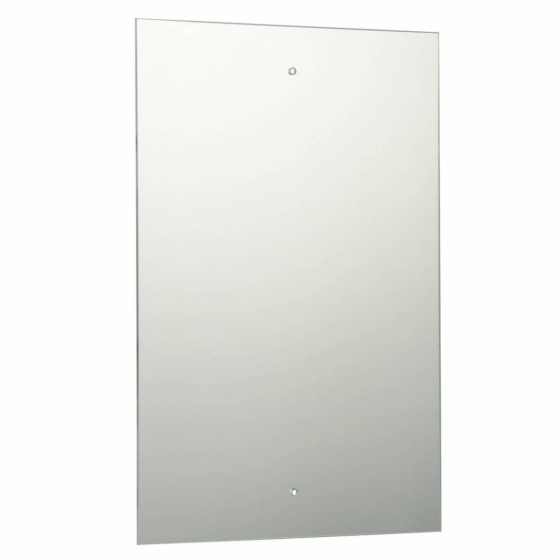 Image of Rectangular Drilled Mirror 45x30cm