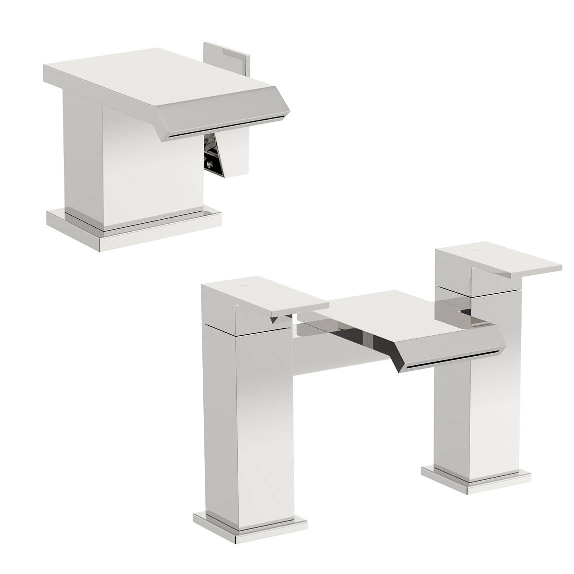 Image of Aurora Basin and Bath Mixer Pack