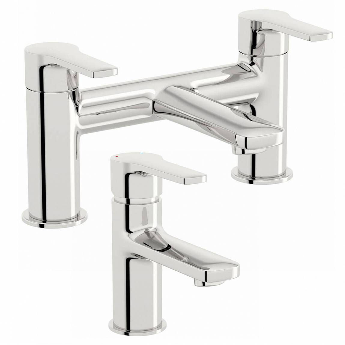 Image of Grassmere Basin and Bath Mixer Pack