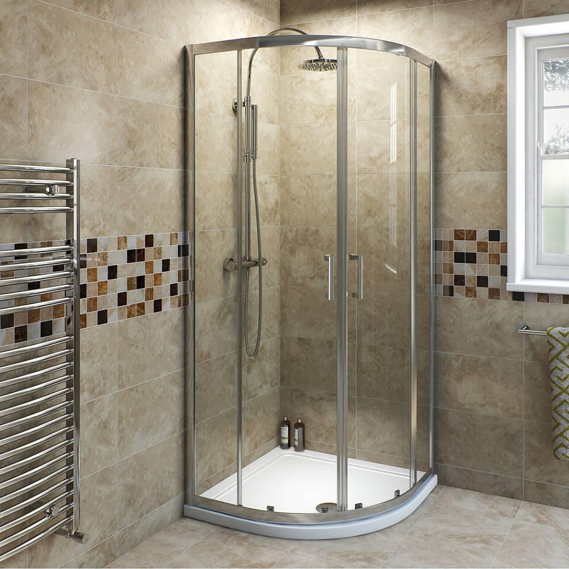 Image of V6 6mm Quadrant Shower Enclosure 900 x 760