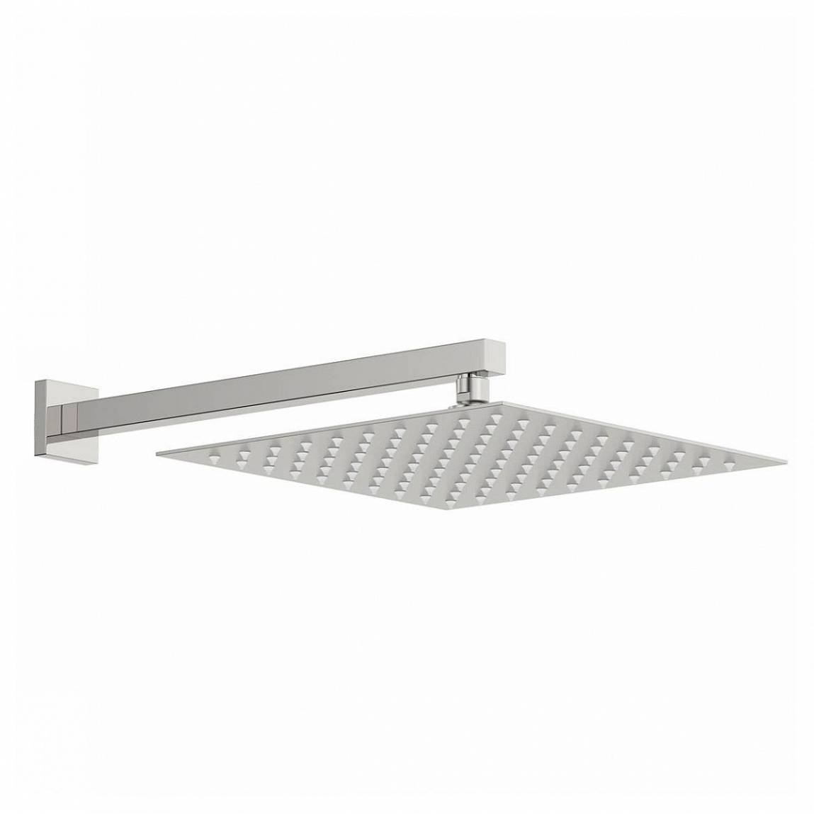 Image of Arcus 300mm Shower Head & Square Wall Arm
