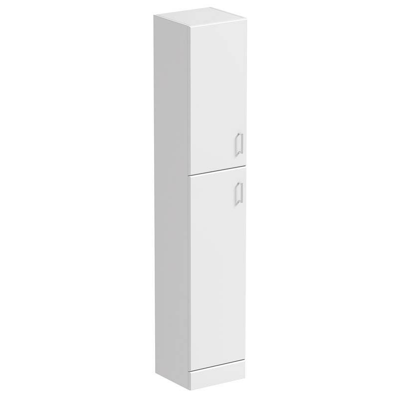 Image of Sienna White Tall Wall Cabinet 330