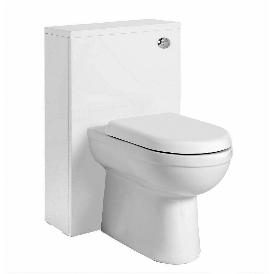 Image of Autograph Back To Wall Toilet inc Seat & Slimline White Unit