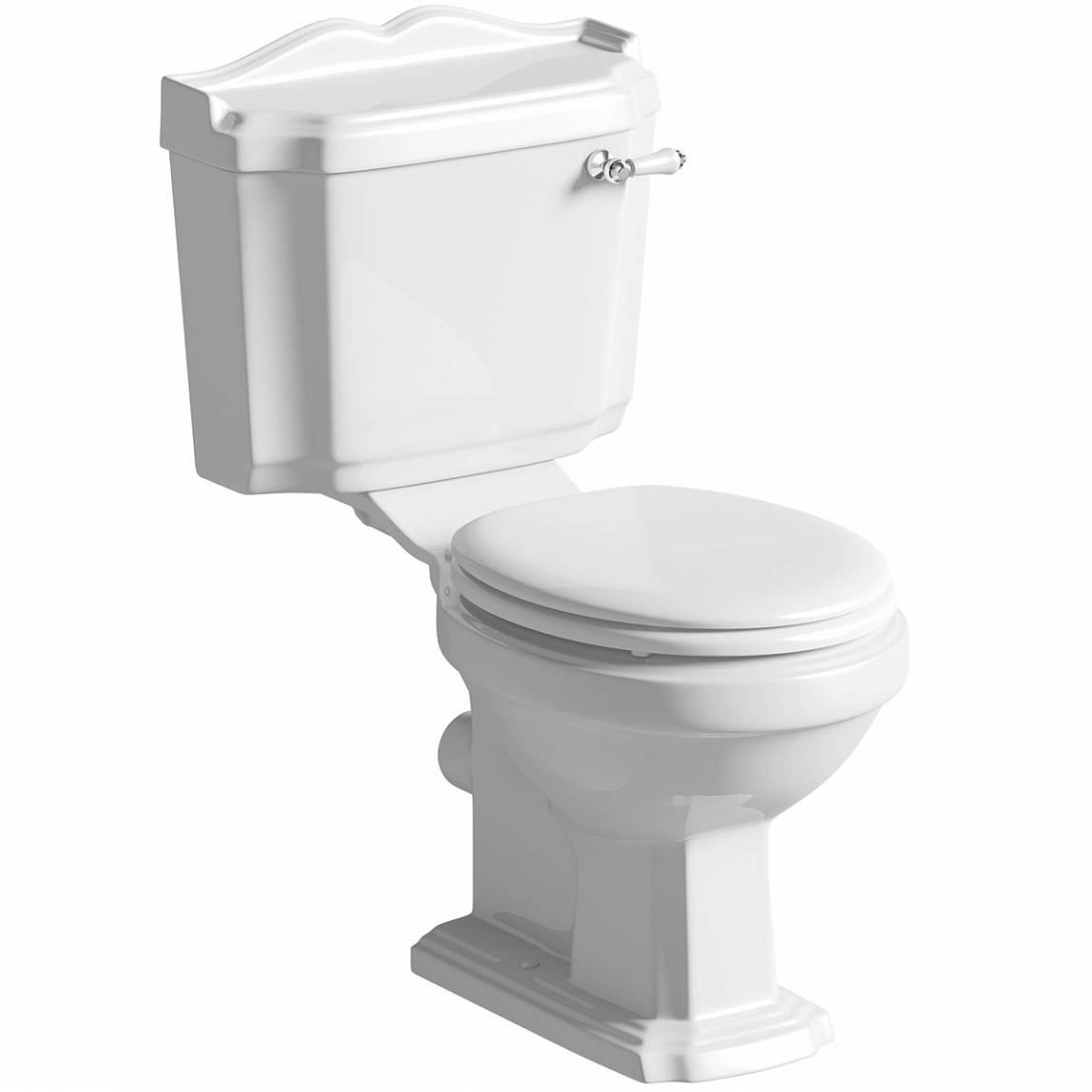 Image of Winchester Close Coupled Toilet inc White Seat