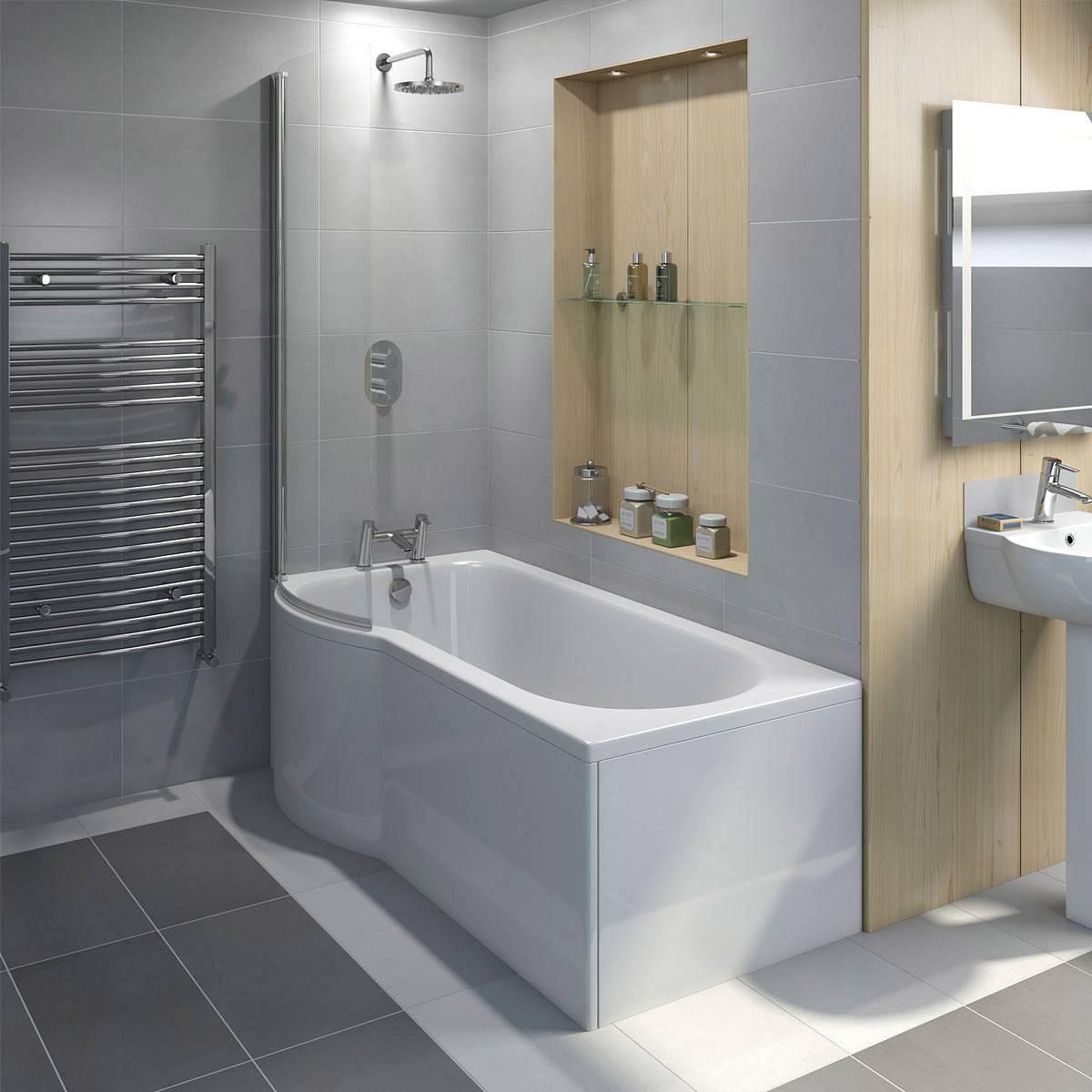 Evesham Shower Bath Screen Victoriaplum Com