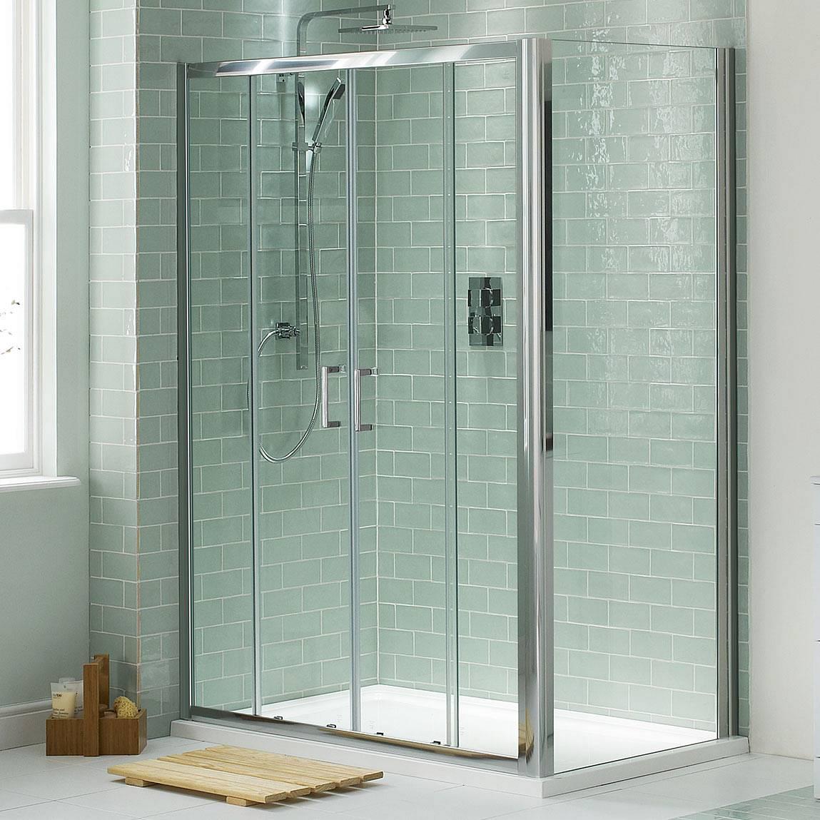 Image of V6 Sliding Shower Enclosure 1400 x 760