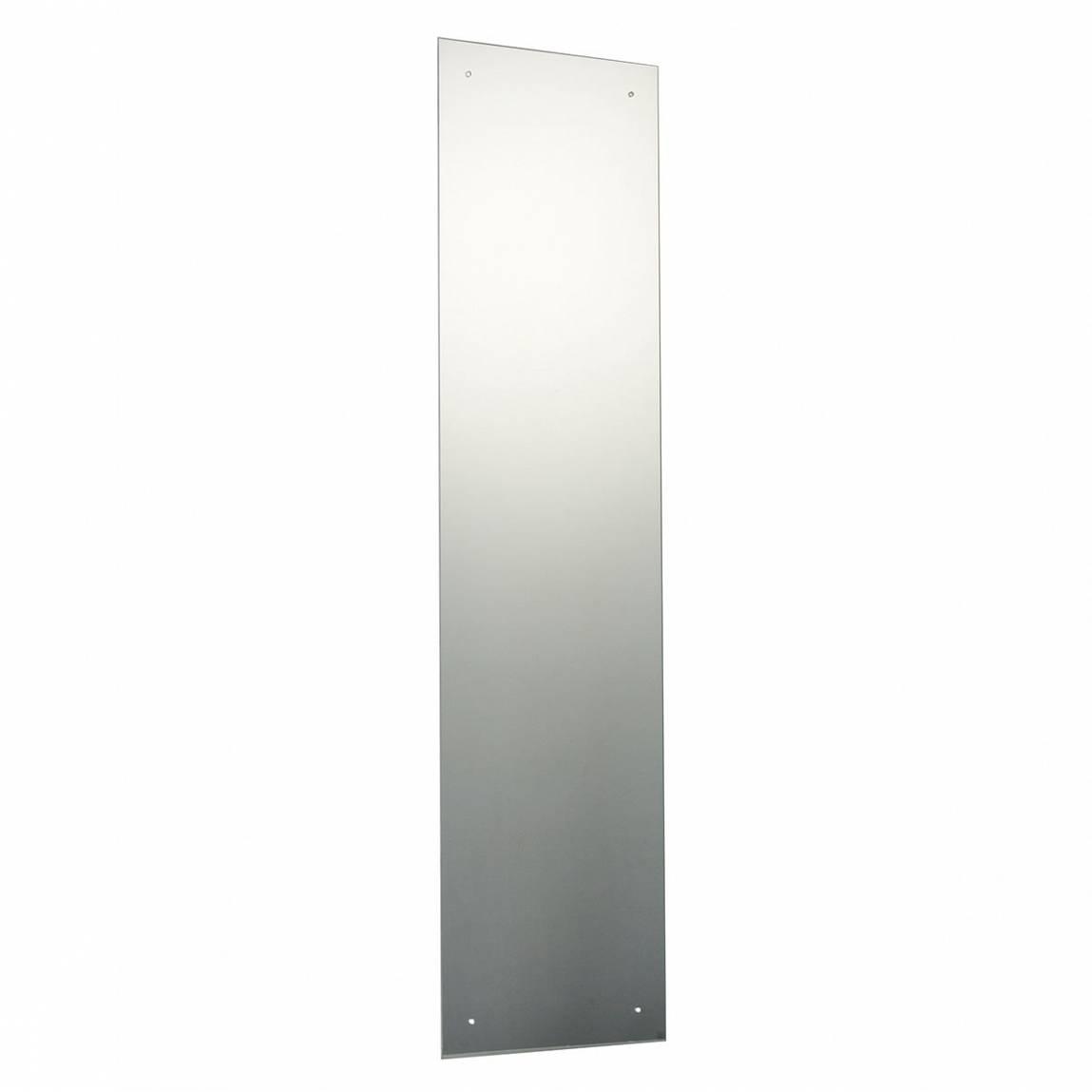 Image of Rectangular Drilled Mirror 120x30cm