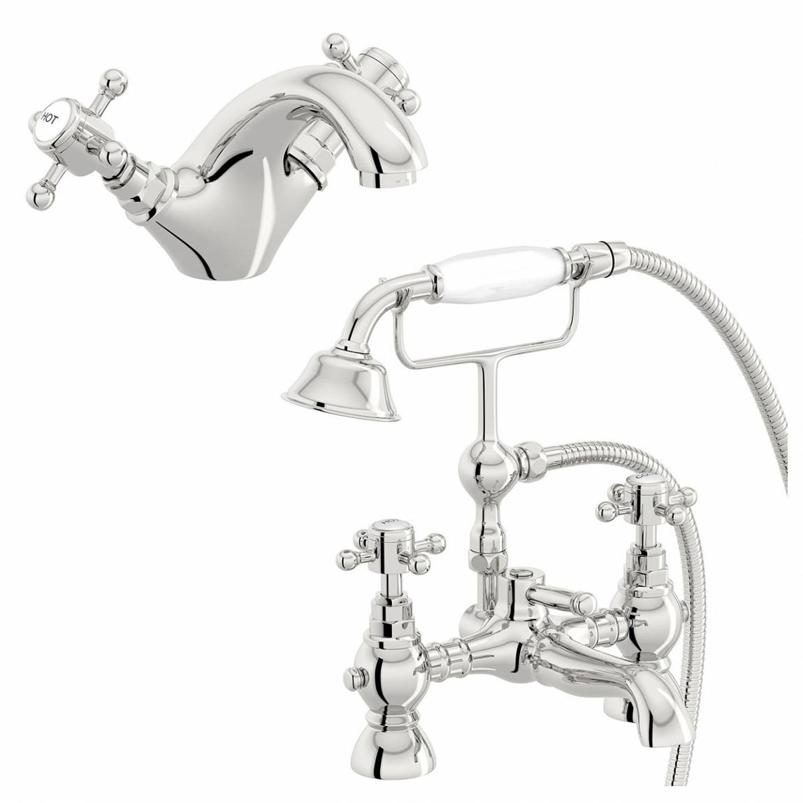 Image of Coniston Basin and Bath Shower Mixer Pack