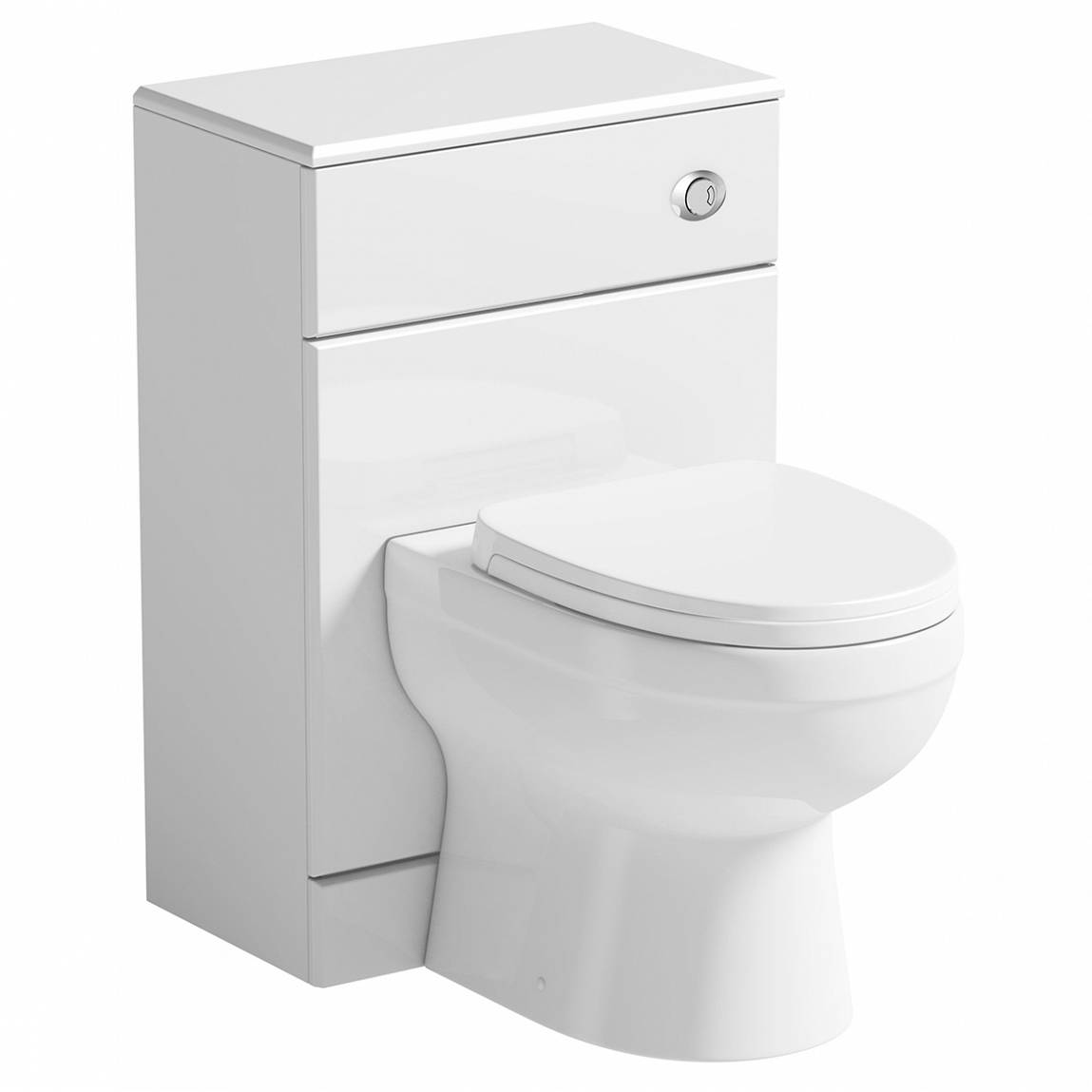 Image of Energy Back To Wall Toilet inc Seat & Unit