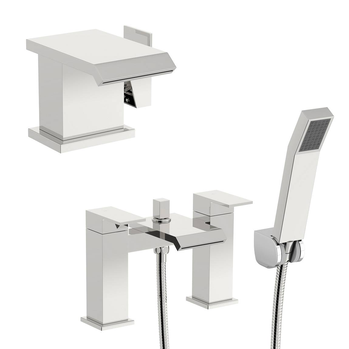 Image of Aurora Basin and Bath Shower Mixer Pack