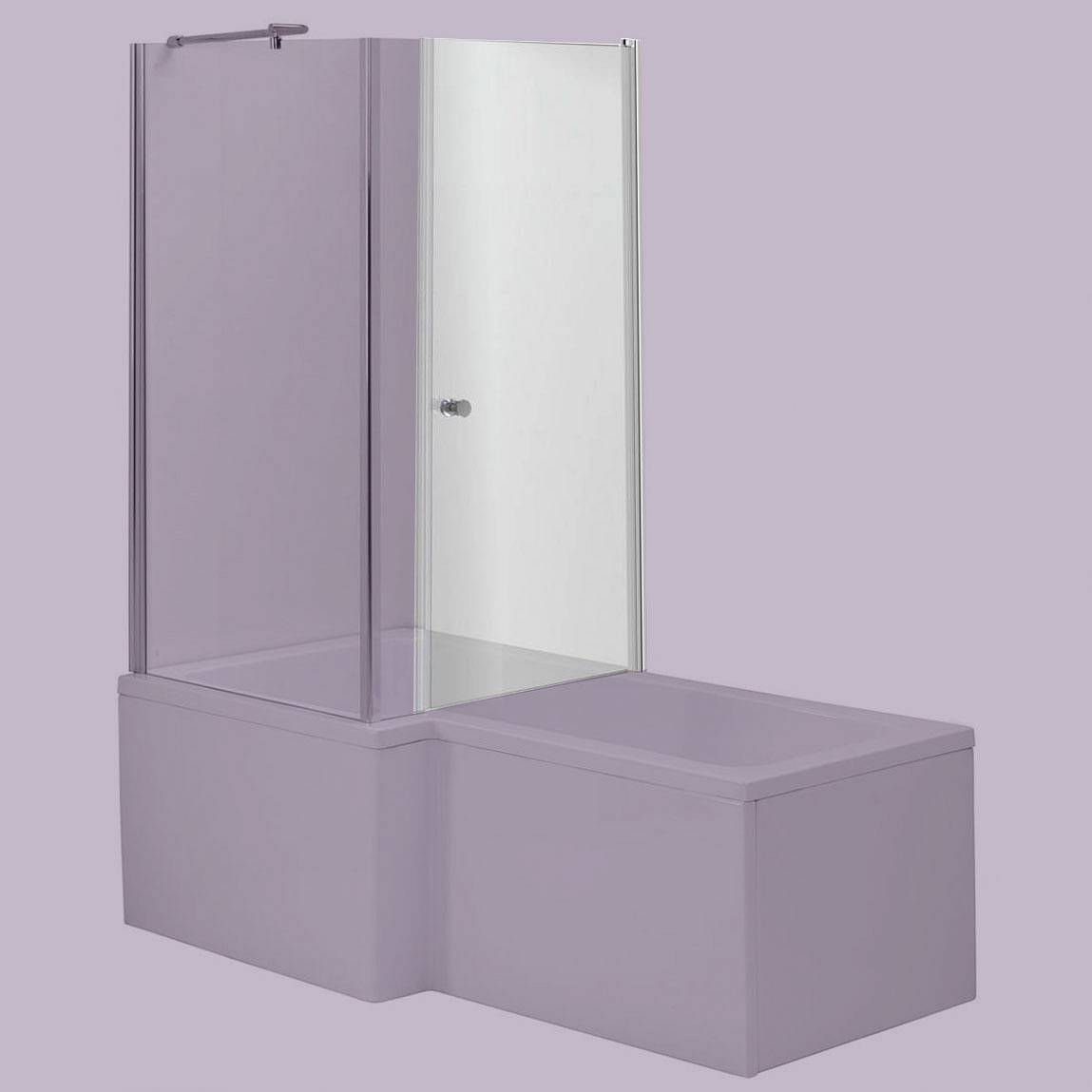 Image of 6mm Glass Door For Square Shaped Shower Bath