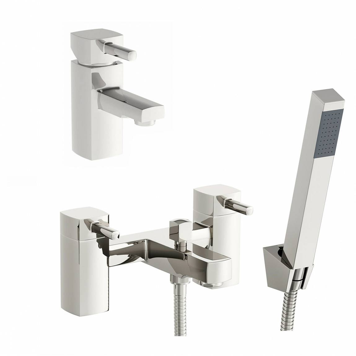 Image of Osca Basin and Bath Shower Mixer Pack
