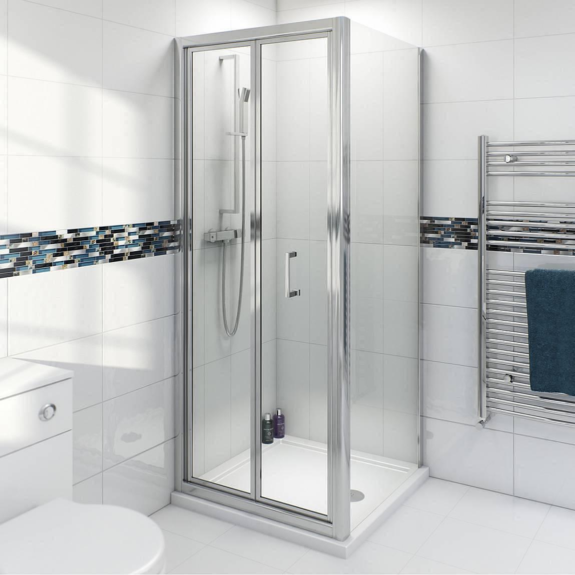 Image of V6 Bifold Shower Enclosure 900