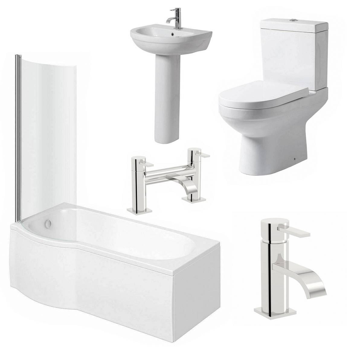 Image of Balance Complete Bathroom Suite LH