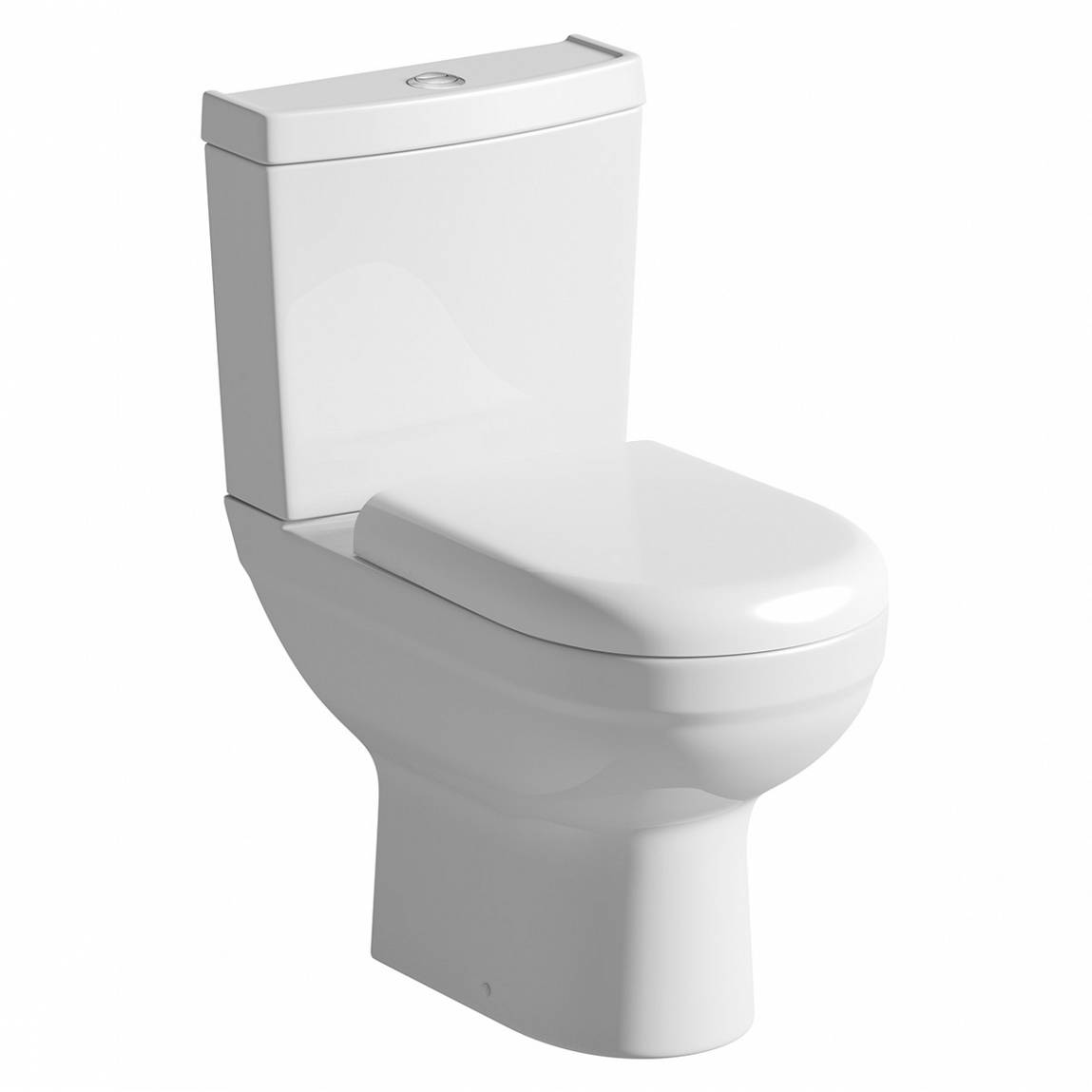 Image of Como Close Coupled Toilet inc Soft Close Seat Special Offer
