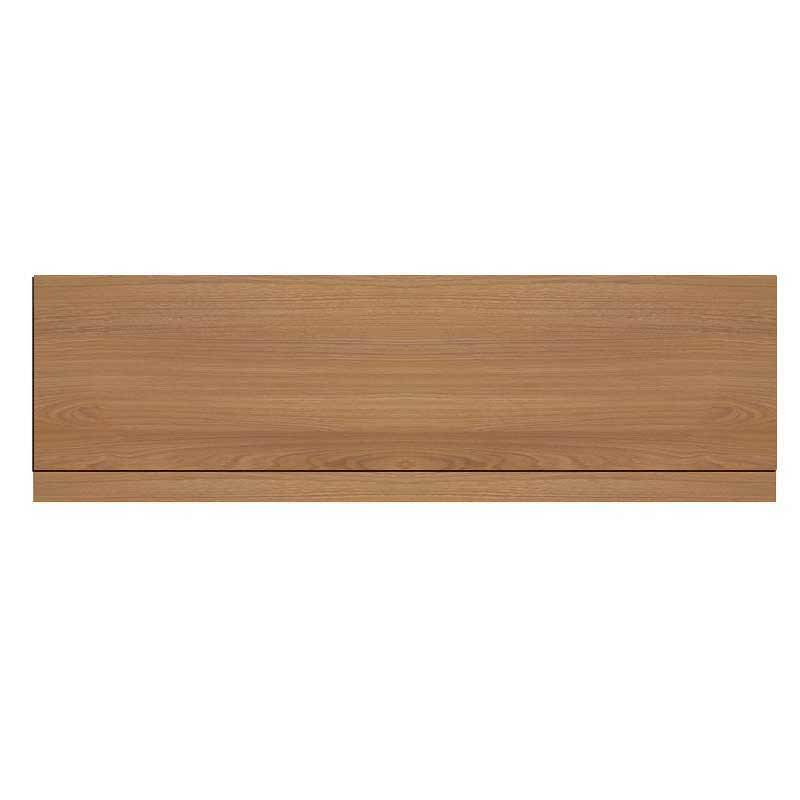Oak Effect Bath Side Panel 1800