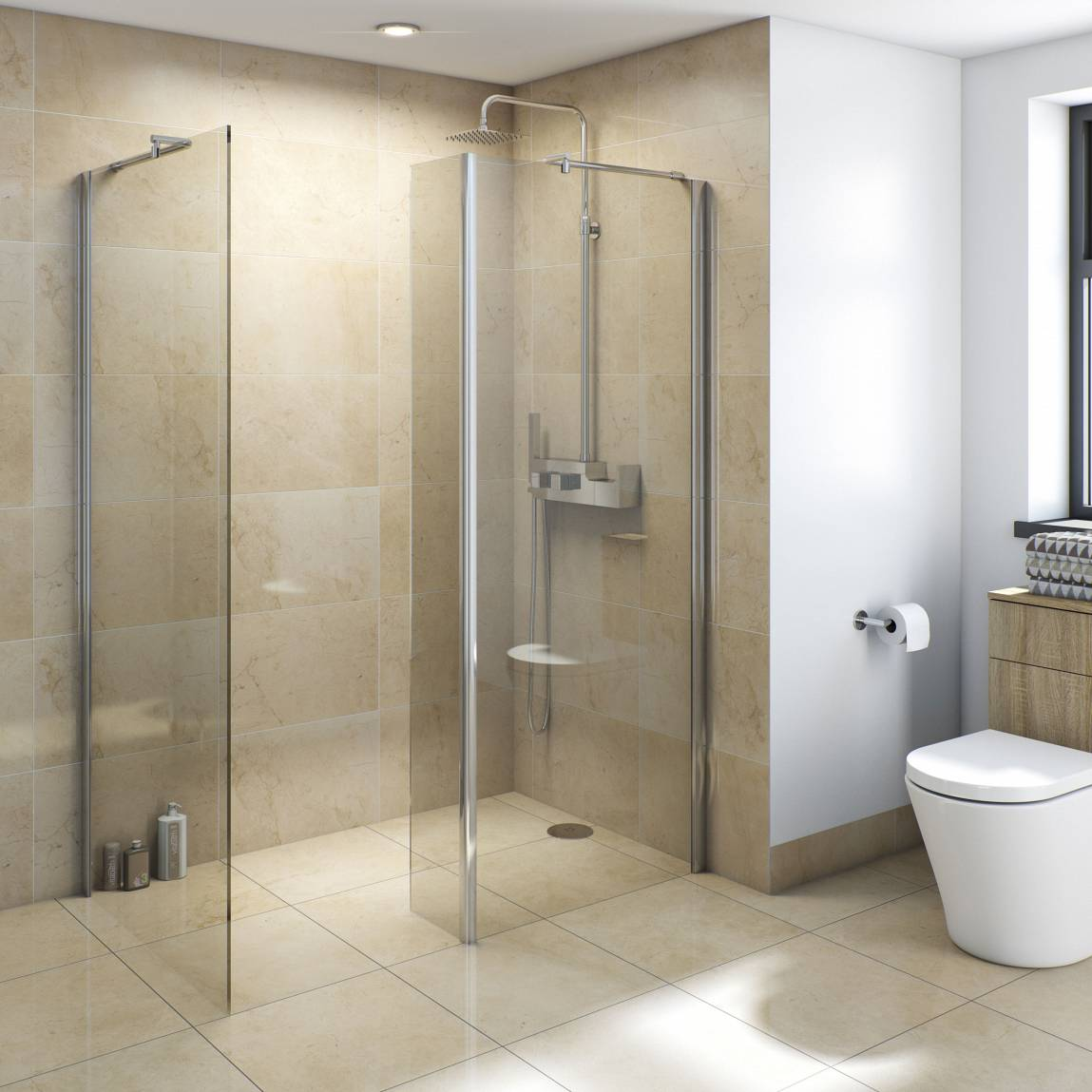 Image of V8+ Walk in Shower 1400 x 900