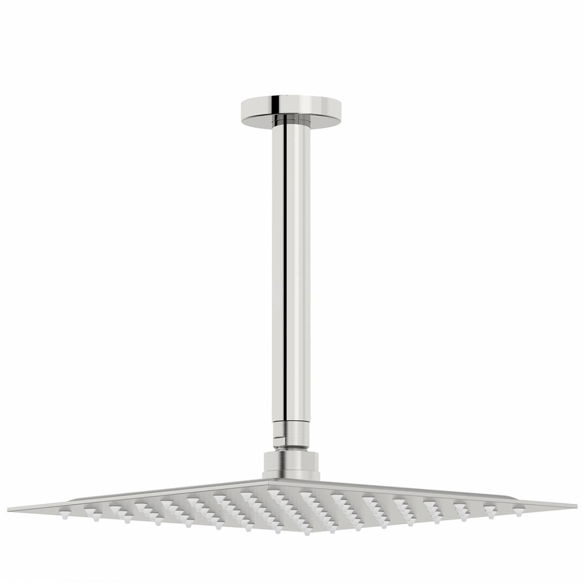 Image of Incus 250mm Shower Head & Round Ceiling Arm