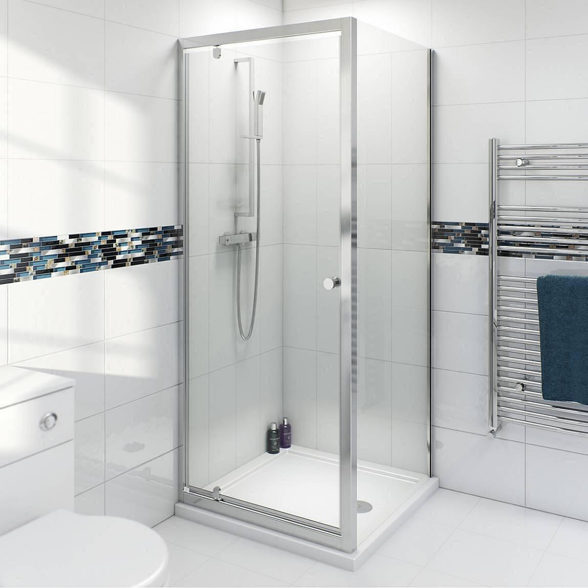 Image of V4 Pivot Shower Enclosure 760