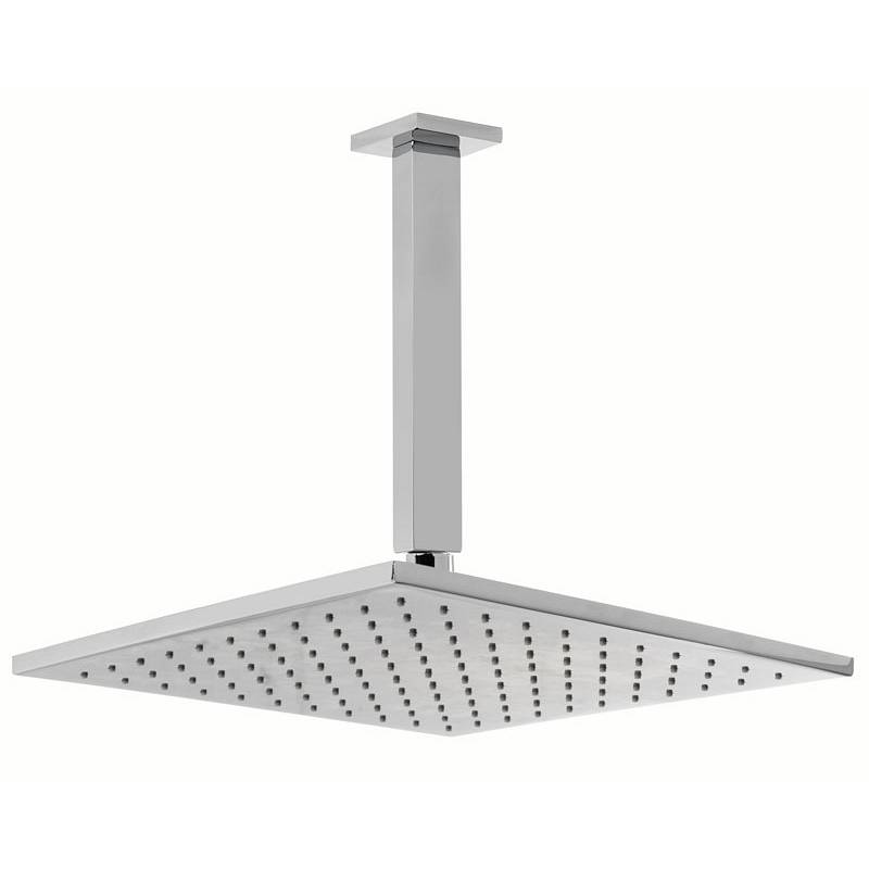 Image of Square 300mm Head & Ceiling Arm