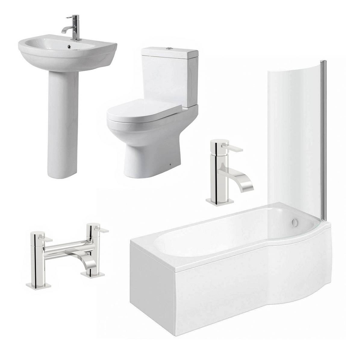 Image of Balance Complete Bathroom Suite RH