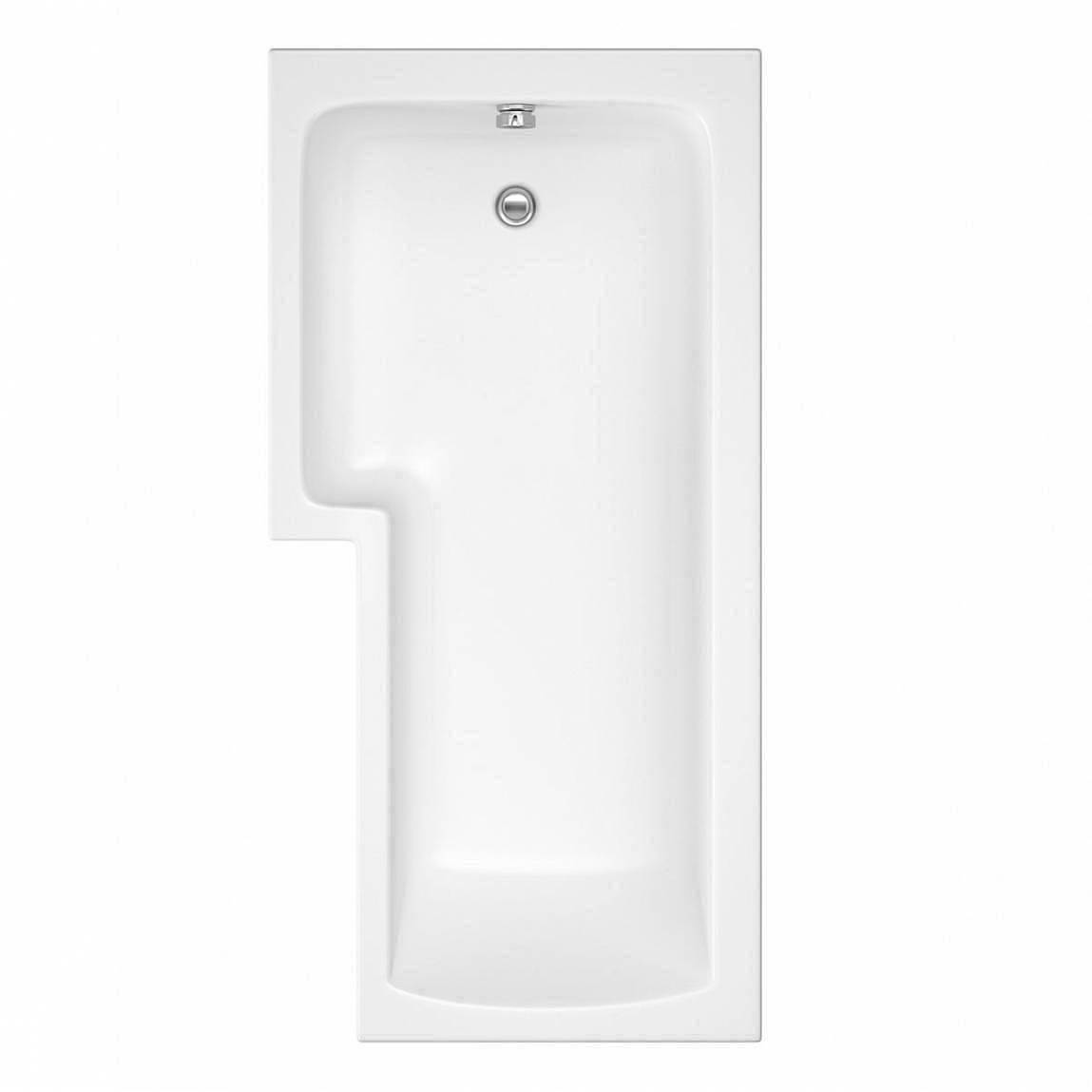 Boston Shower Bath 1700 X 850 Lh Inc Screen Amp Towel Rail