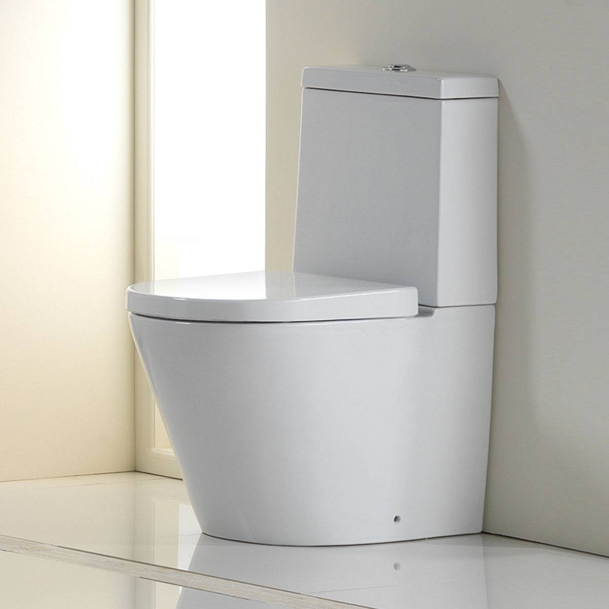 Image of Lloret Close Coupled Toilet Inc Soft Close Seat