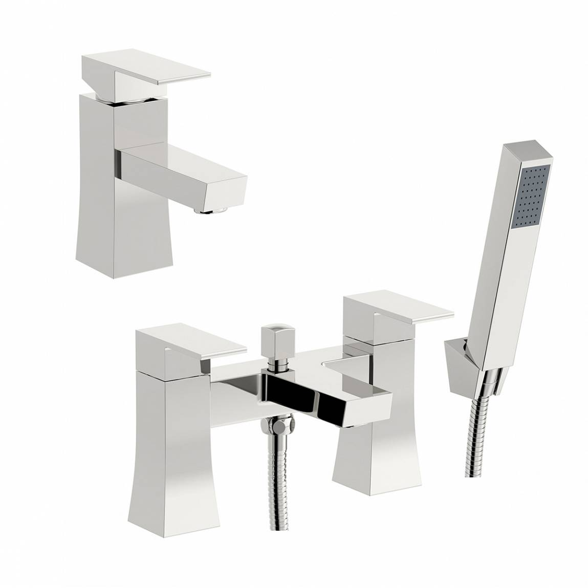 Image of Hall Basin and Bath Shower Mixer Pack