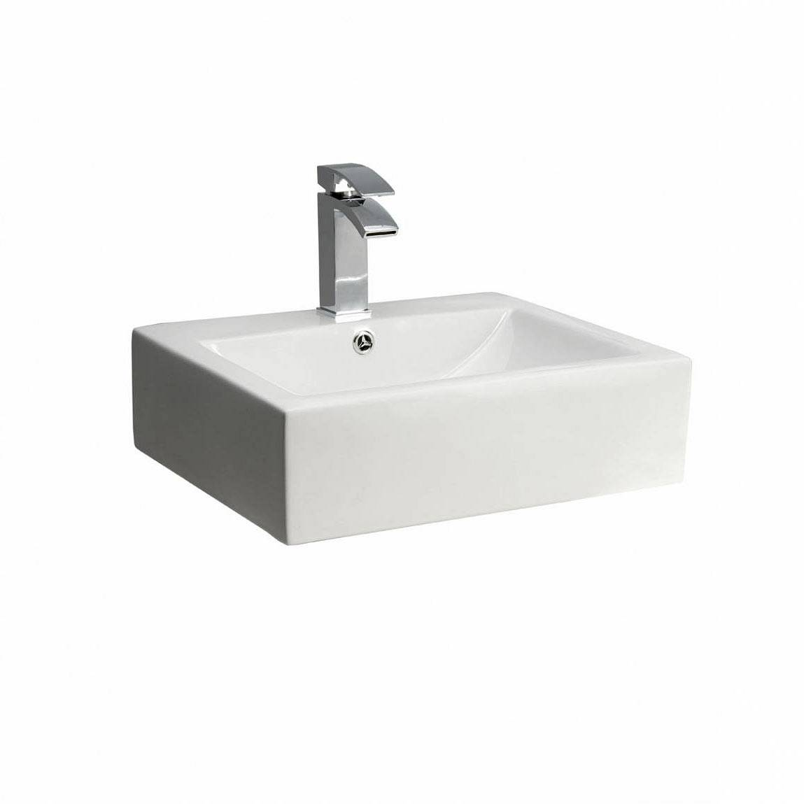 Image of Quadra Counter Top Basin PLUS Waste